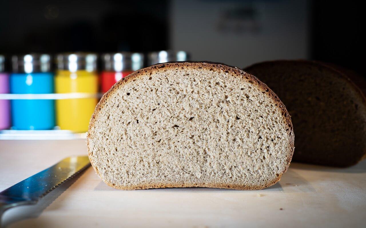 Rye wheat Bread 65 35 Single Half