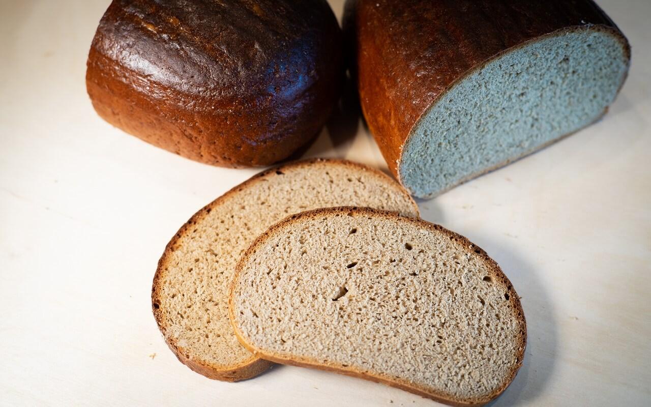 Rye wheat Bread 65 35 Slices