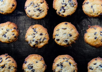 Soft Baked Chocolate Chip Cookies Baked For 10 Minutes