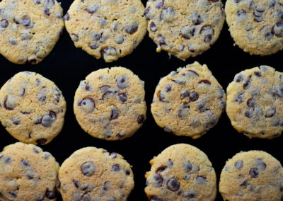 Soft Baked Chocolate Chip Cookies Baked For 8 Minutes