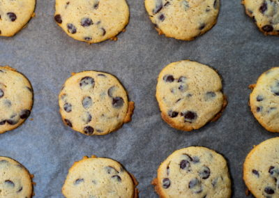 Soft Baked Chocolate Chip Cookies Baked For 9 Minutes