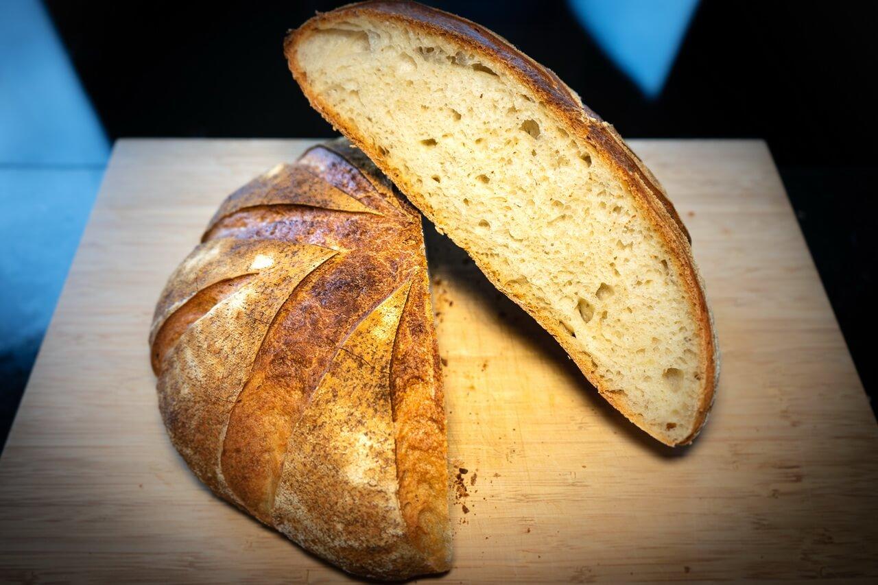 Sourdough Bread For Beginners Crumb 2