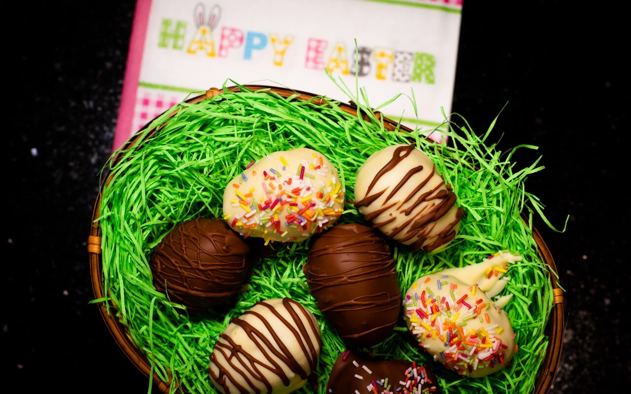 Chocolate Chip Cookie Dough Easter Eggs 2