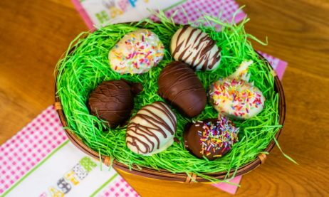 Chocolate Chip Cookie Dough Easter Eggs