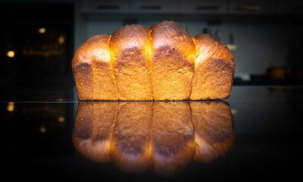 Fluffy Sourdough Toast