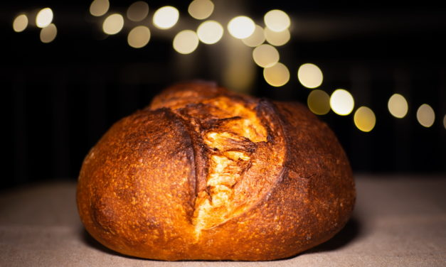 Sourdough Bread With All-purpose and First Clear Flour