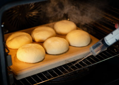 Sunday Morning Breakfast Rolls Baking 1