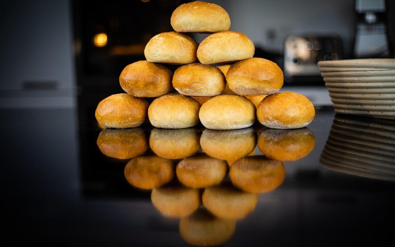 Sunday Morning Breakfast Rolls Pyramid