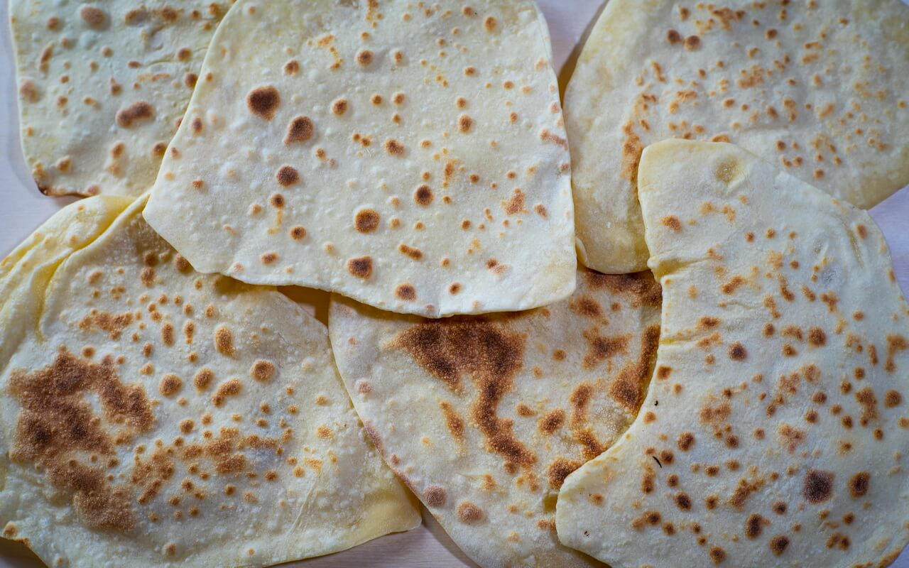 Indian Naan Bread 2