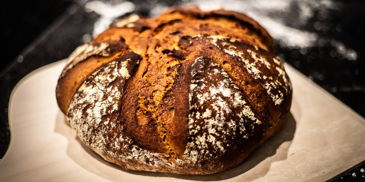 Light Rye Mixed With High-gluten Flour Bread