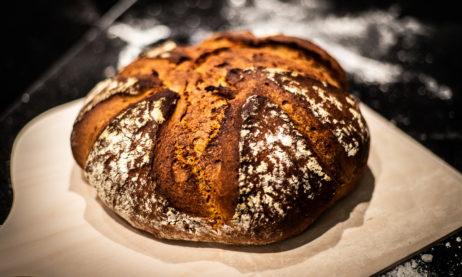 Light Rye Mixed With High gluten Flour Bread