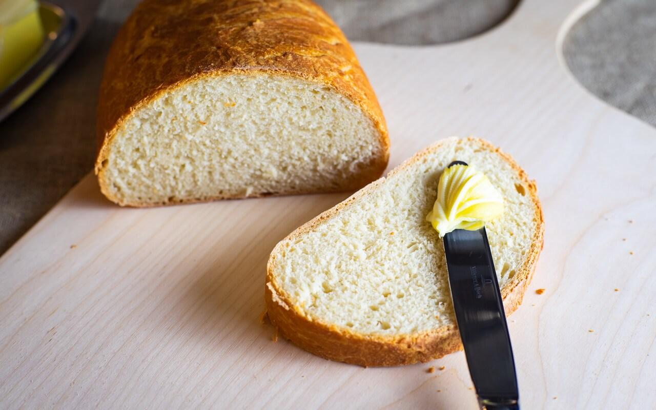 Little Effort White Loaf Crumb