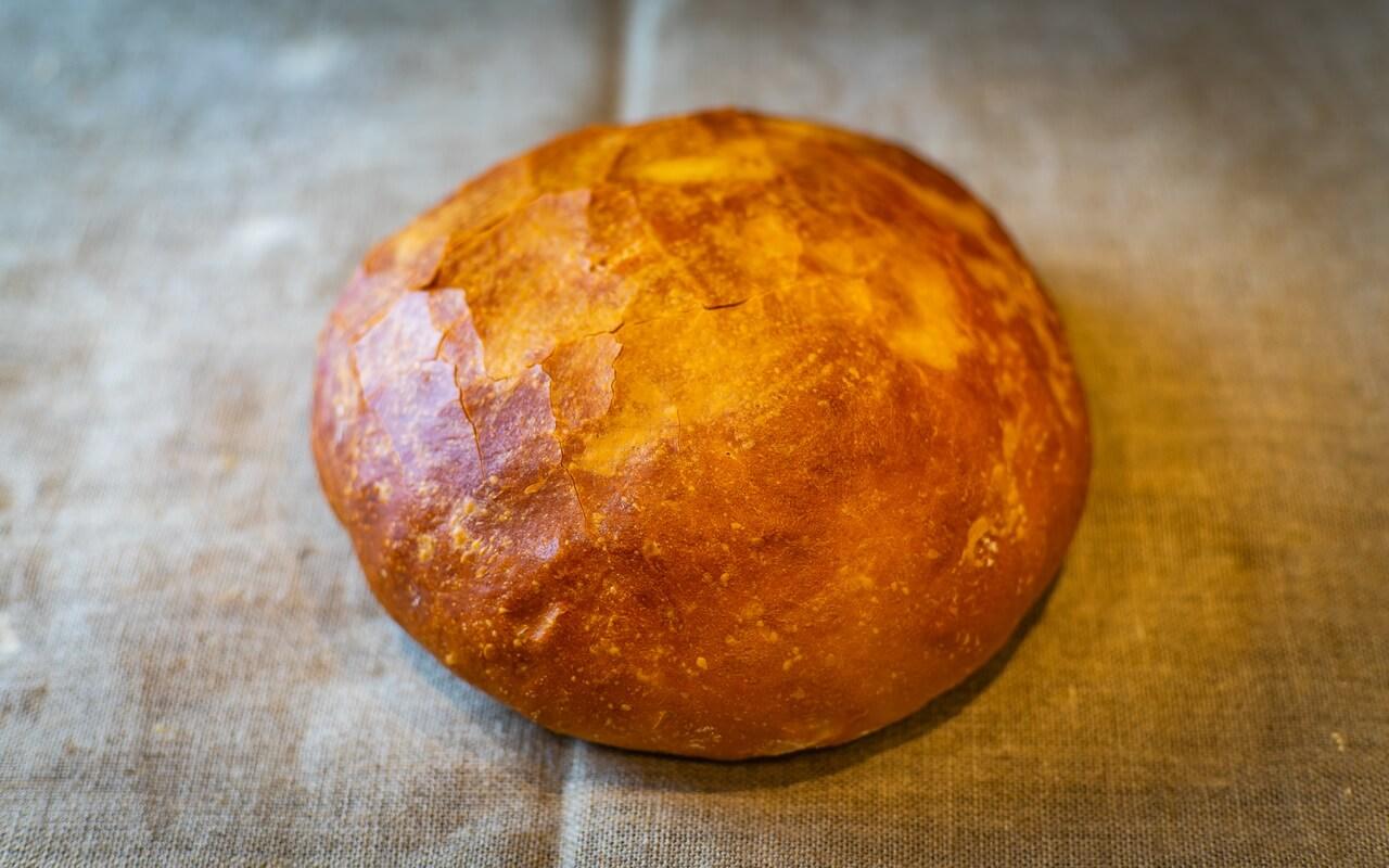 Little Effort White Loaf Round