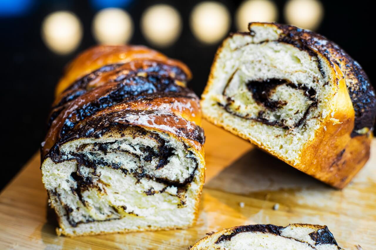 Chocolate Babka Close up