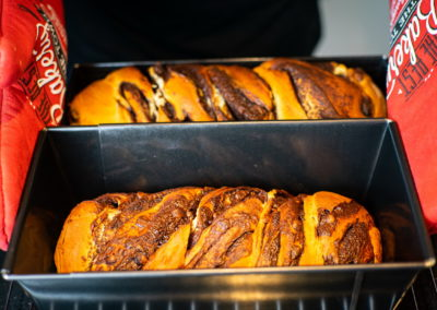 Chocolate Babka Strraight From The Oven