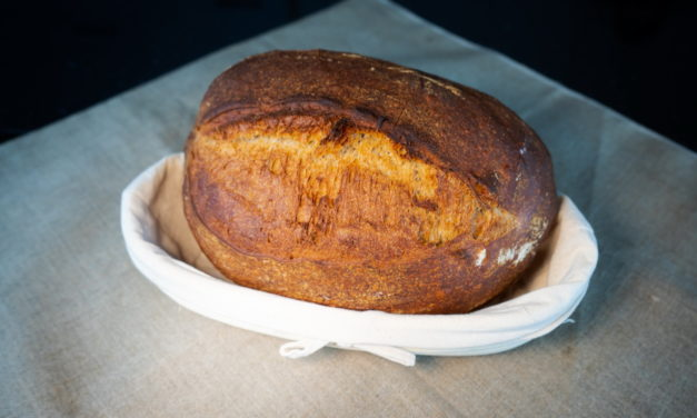 Sourdough Bread With Rye And All-purpose Flour