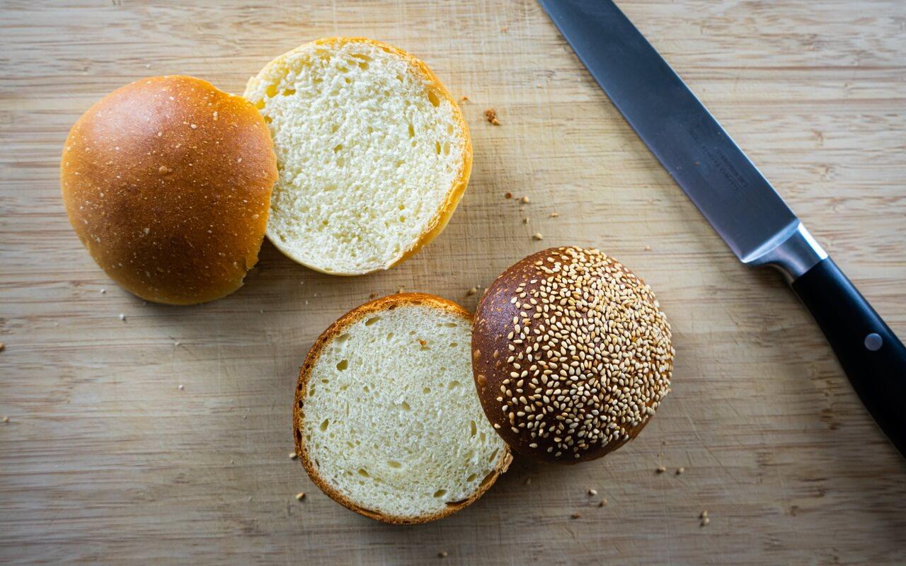 Burger Buns After Peter Reinhart Crumb