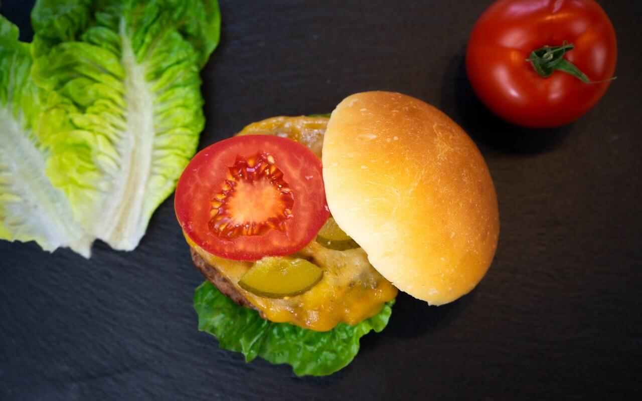Burger Buns After Peter Reinhart Whole Burger Opened Up