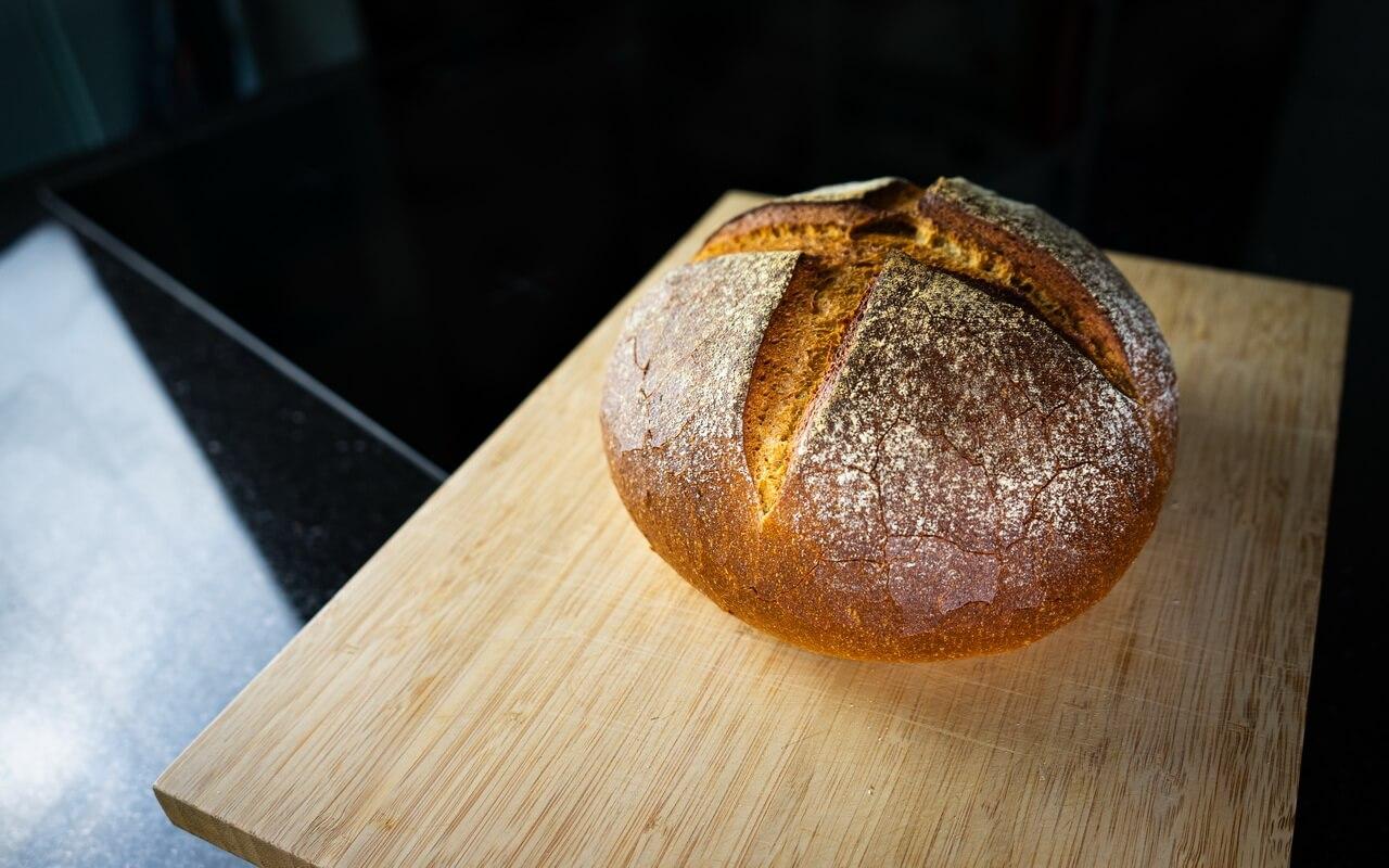 Little Effort Farmhouse Bread Side View