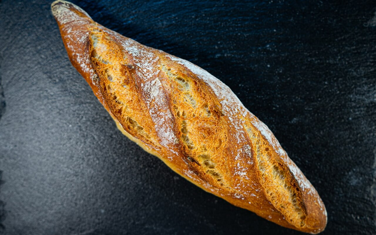One Of The Best Baguettes From France Close up