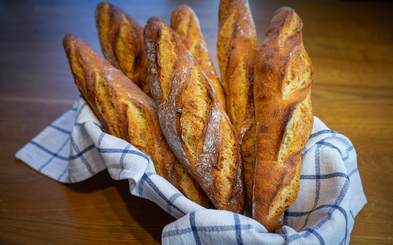 One Of The Best Baguettes From France Crust