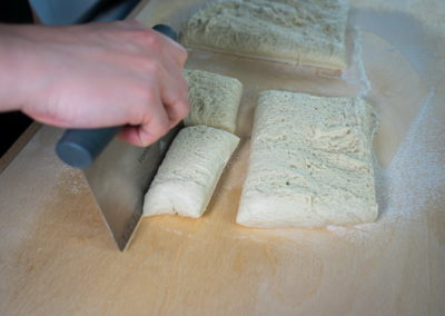 Easy To Make Bread Rolls Shaping
