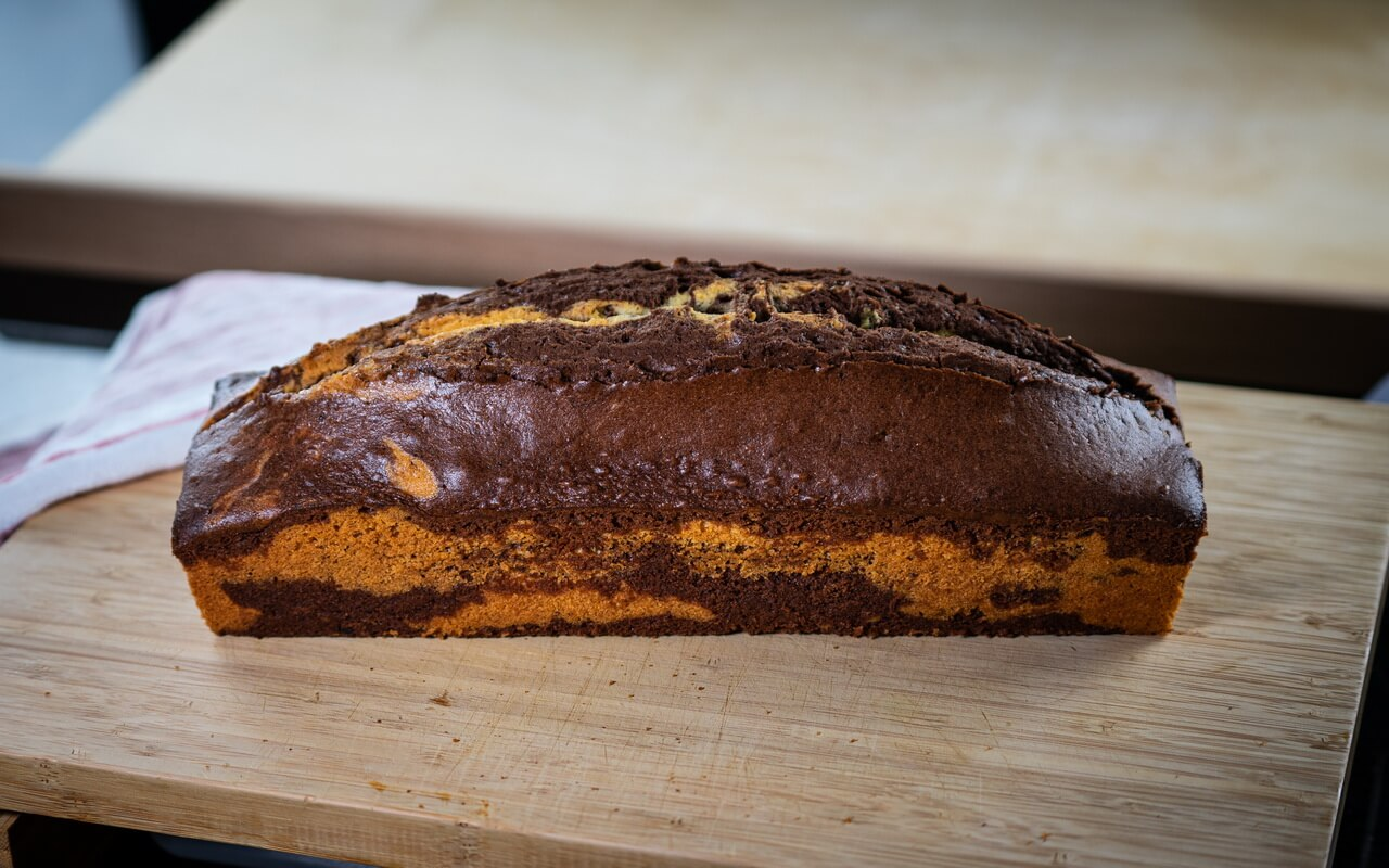 Extra Moist Marble Cake Whole Cake
