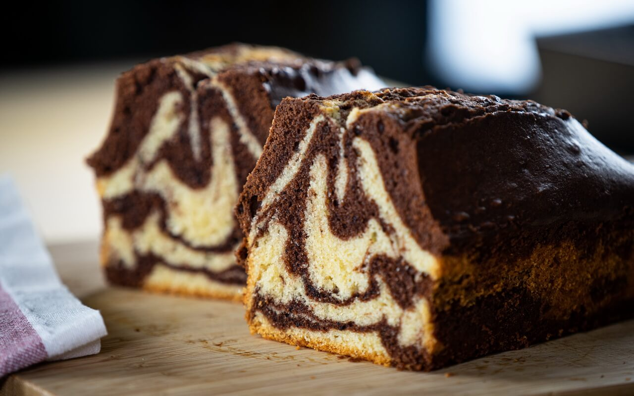 Extra Moist Marble Cake