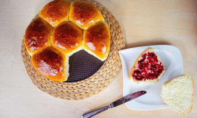 Soft And Fluffy Milk Bread Rolls