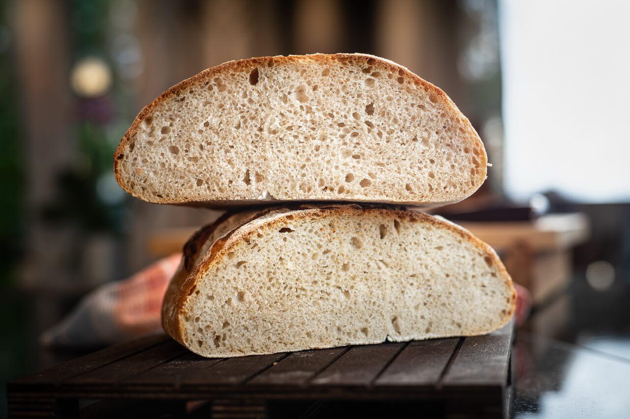 Sourdough Bread From Leftover Sourdough Starter Crumb