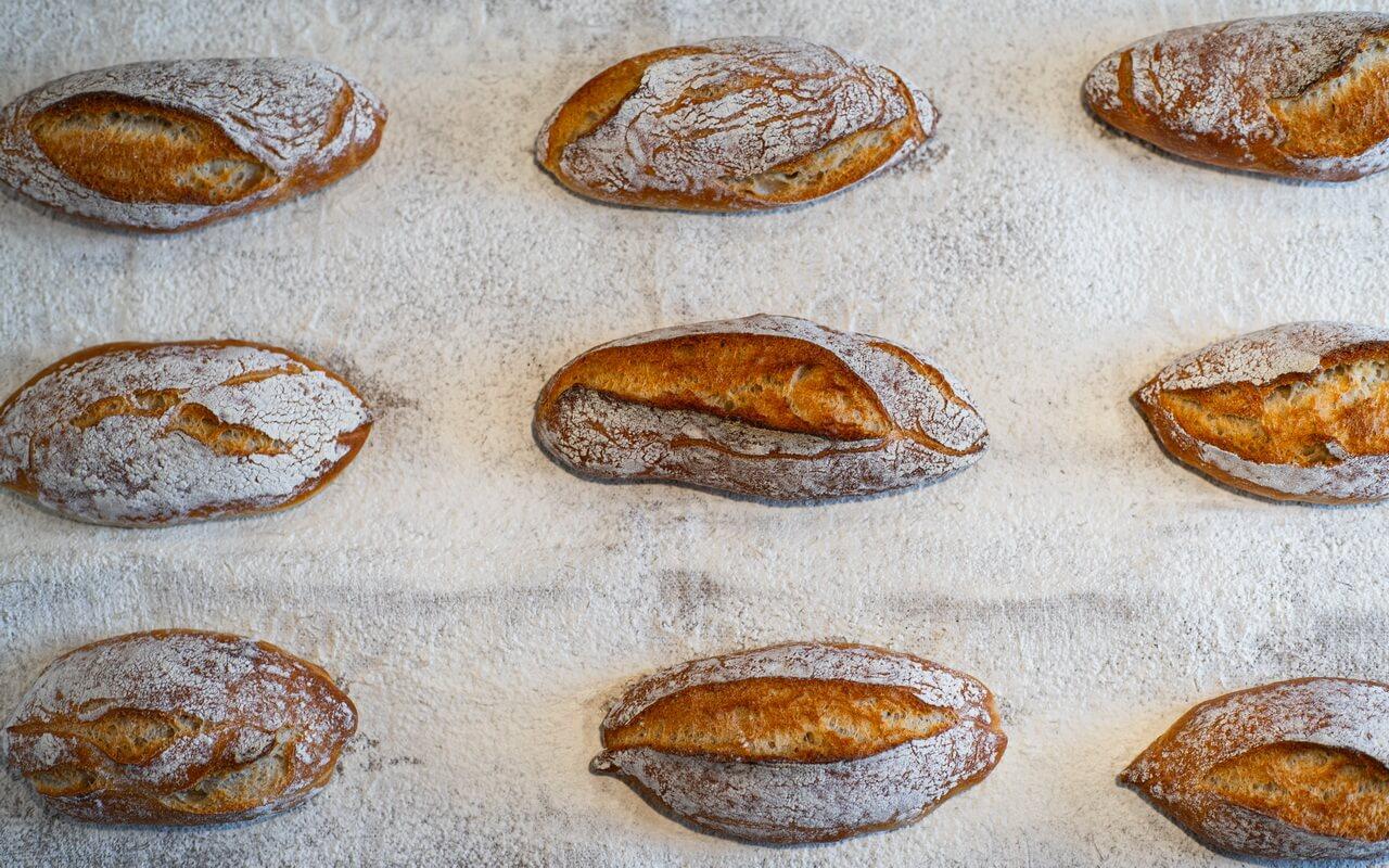 Rustic Baguette Rolls Crust