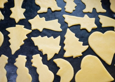 Classic Christmas Cookies Before Baking