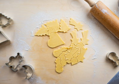 Classic Christmas Cookies Shaping