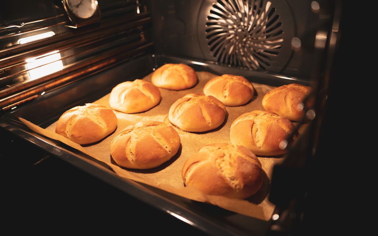Kaiser Rolls Like In Our Childhood In The Oven