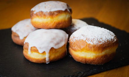 New Year's Eve Doughnuts