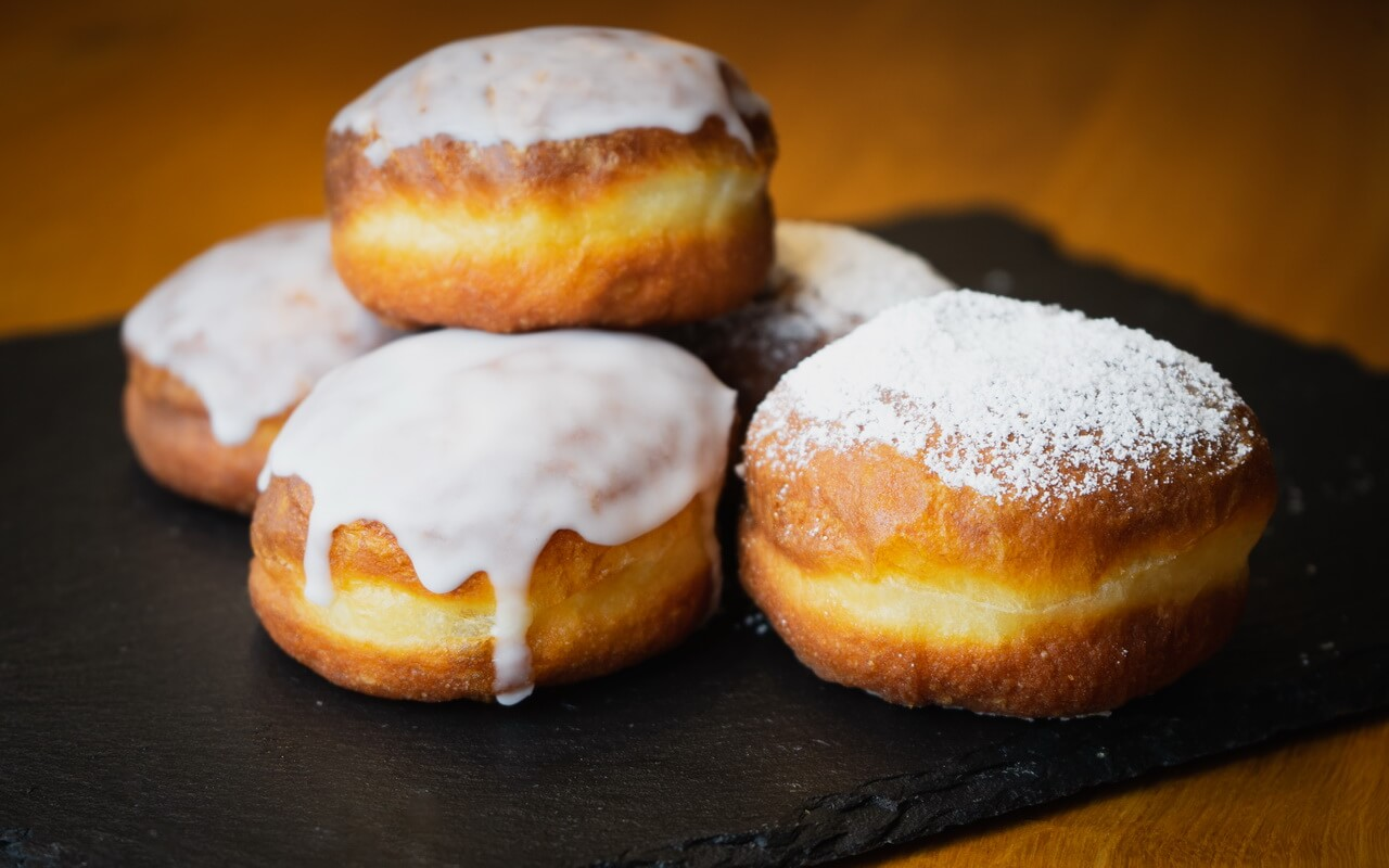 New Years Eve Doughnuts