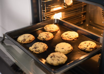 Chocolate Chip Crush Cookies From Levain Bakery After Baking