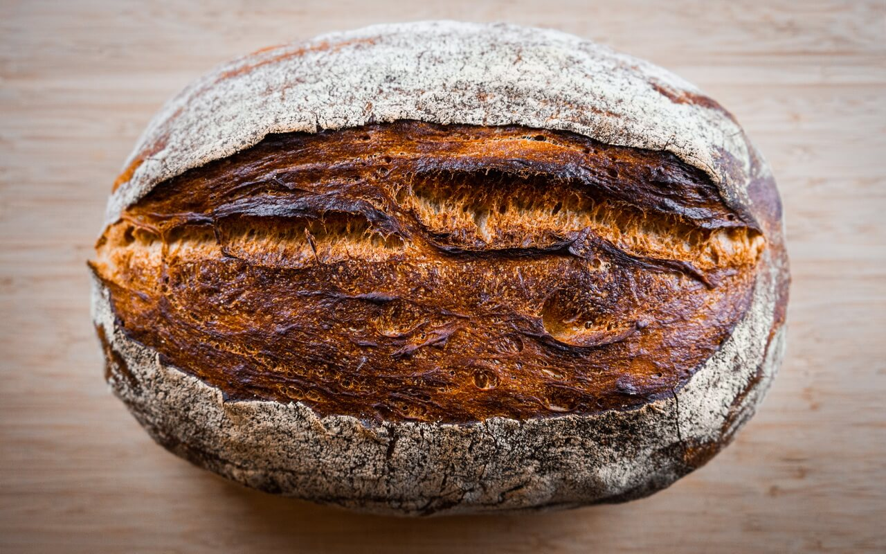 Rustic Mixed Wheat Loaf Crust