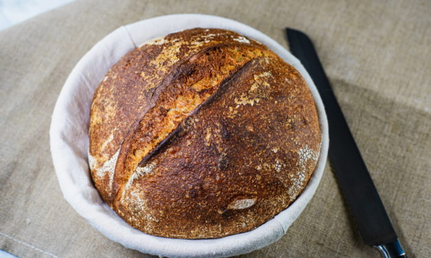 Sourdough Bread With 80% Hydration