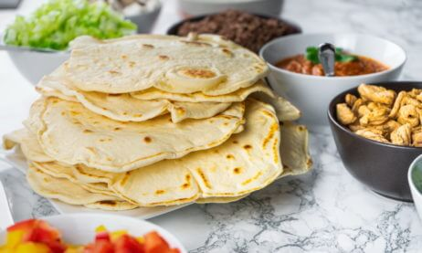 Wheat Tortillas For Fajitas