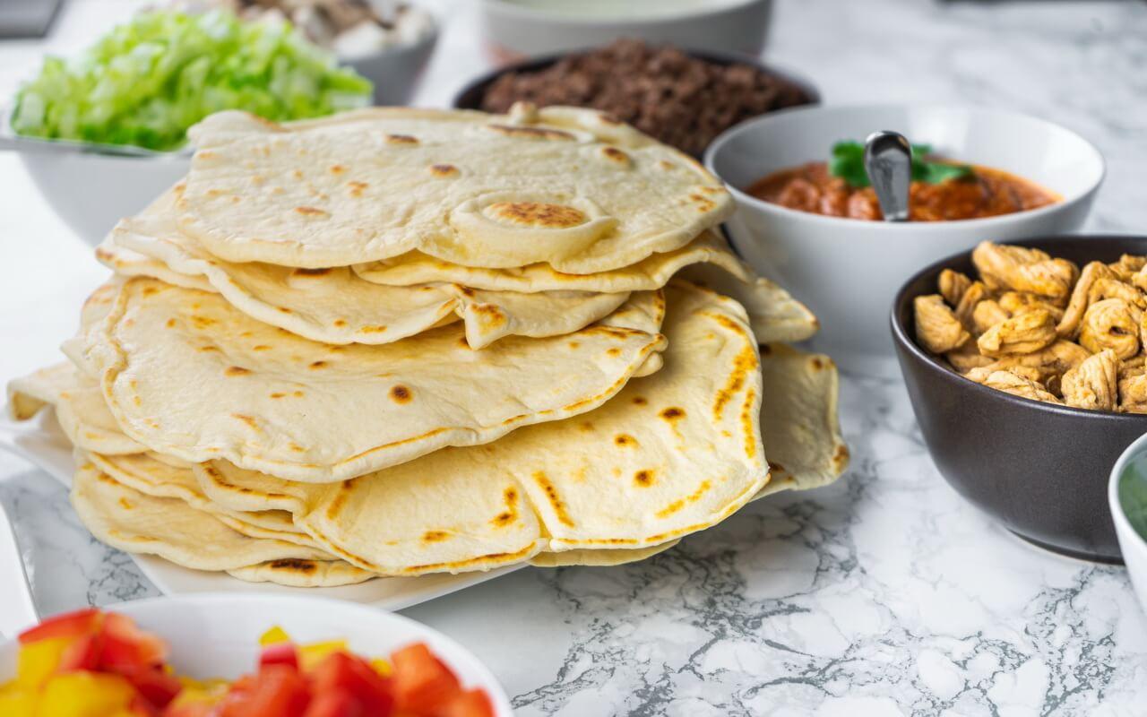 Wheat Tortillas For Fajitas