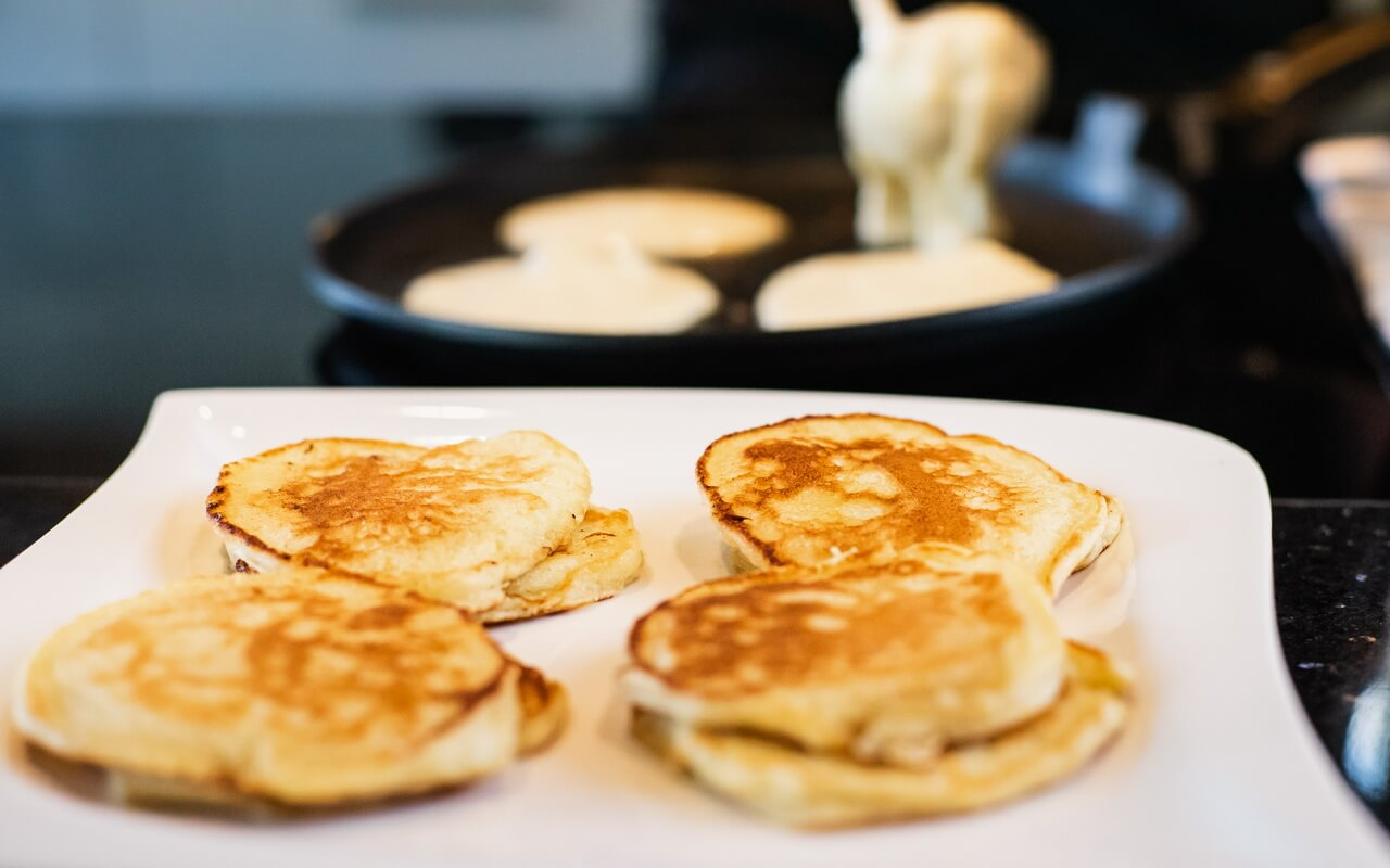 Light And Fluffy Buttermilk Pancakes Baked