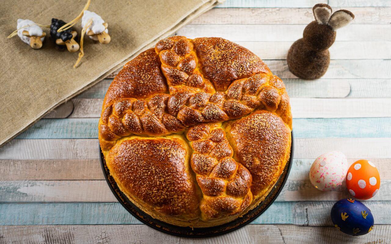 Paska Traditional Slovak Easter Bread