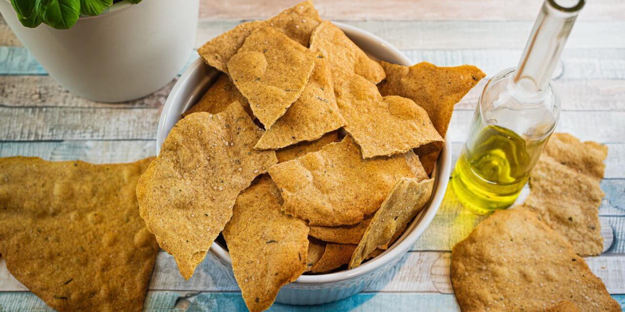 Sourdough Chips From Leftover Sourdough Starter