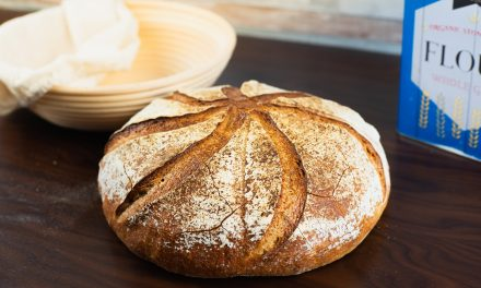 Sourdough Bread With 65% Hydration