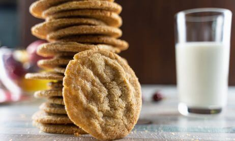 Chewy Brown Sugar Cookies With Cinnamon