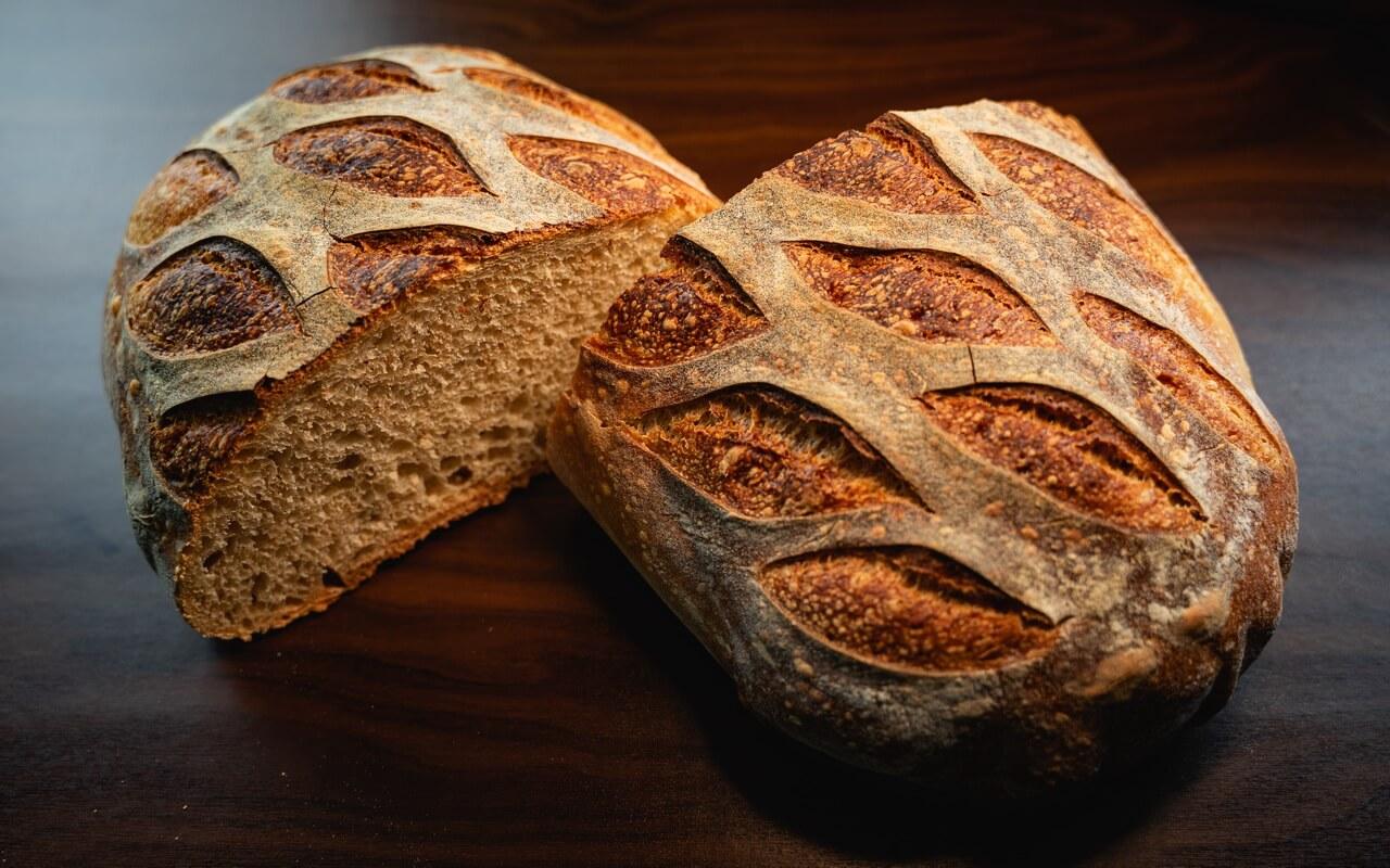 White Spelt Flour Sourdough Bread