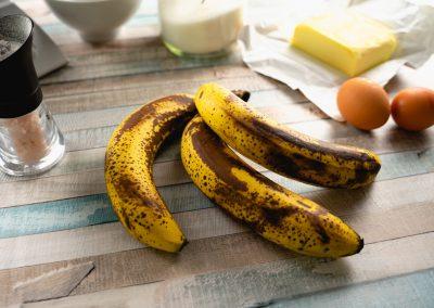 Moist Banana Bread Ingredients