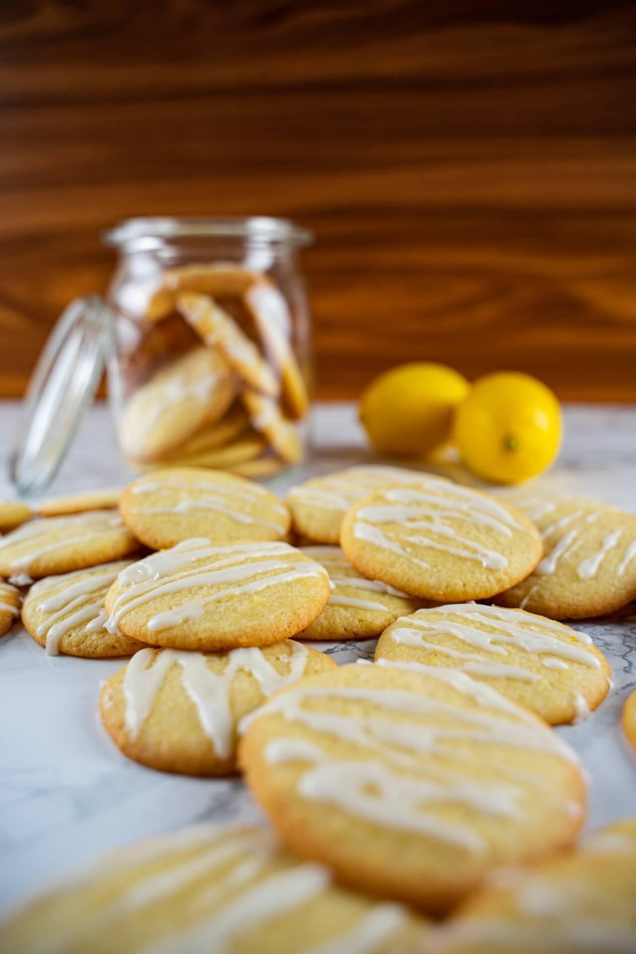 Lemon Sugar Cookies Many Cookies