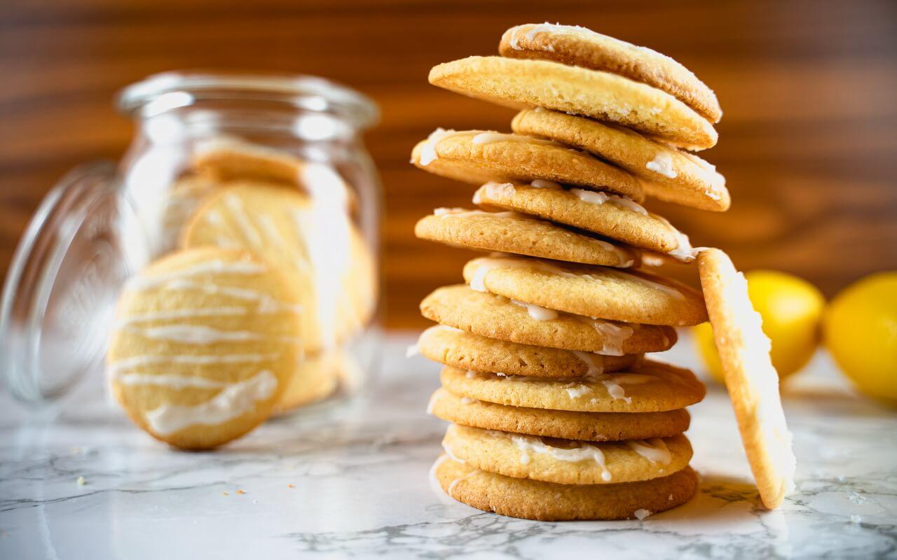 Lemon Sugar Cookies Tower
